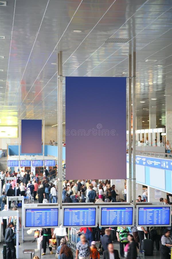 No aeroporto fotos de stock