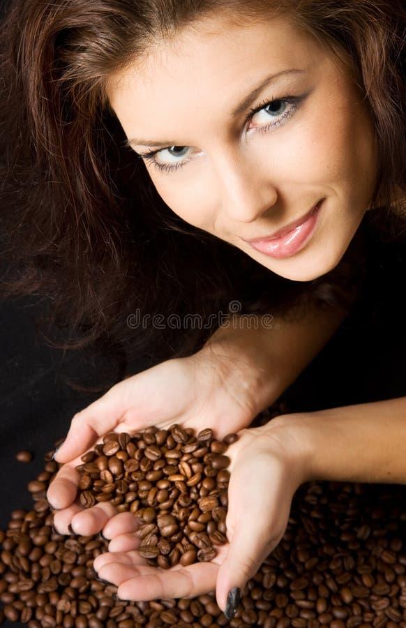 No amor com café fotos de stock royalty free