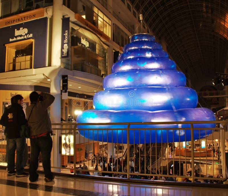 No azul, 2008 - escultura fotografia de stock