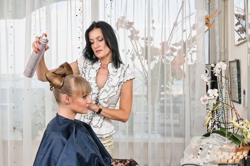 No bar do hairdressing imagem de stock royalty free