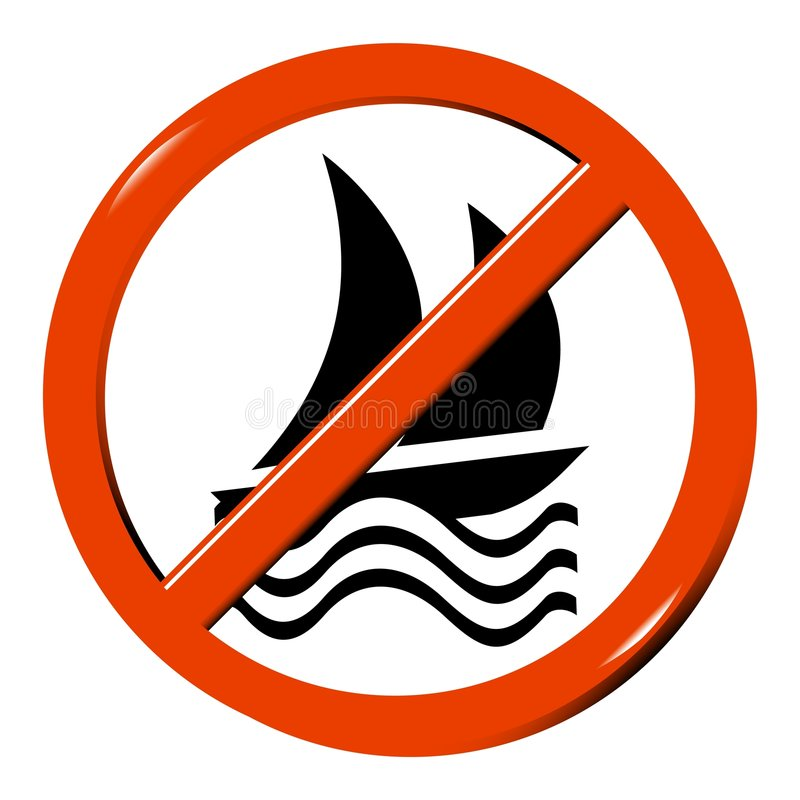 Free No Boat Royalty Free Stock Images - 8902879