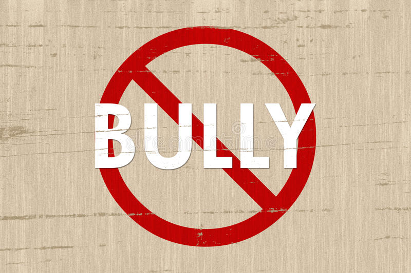 Download No Bully Zone Stock Photos - Image: 25575033
