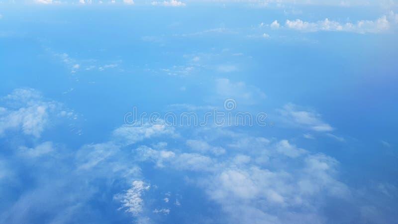 No céu imagens de stock