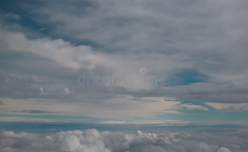 No céu foto de stock