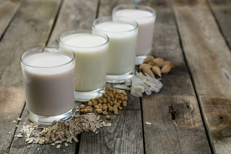 No concepto de la leche de la lechería fotos de archivo