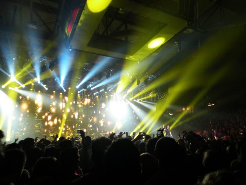 No concerto imagens de stock