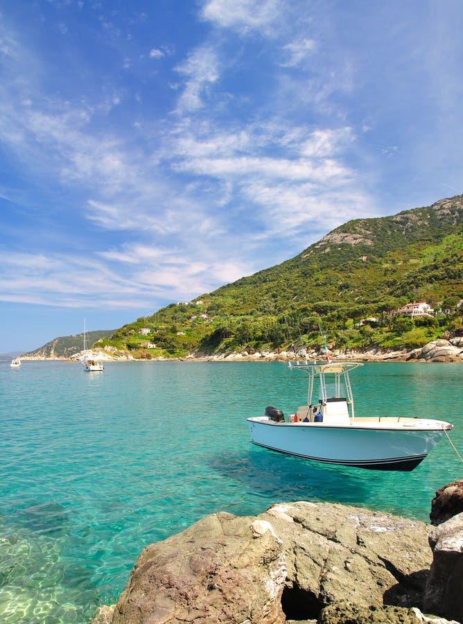 No console da Ilha de Elba fotos de stock royalty free