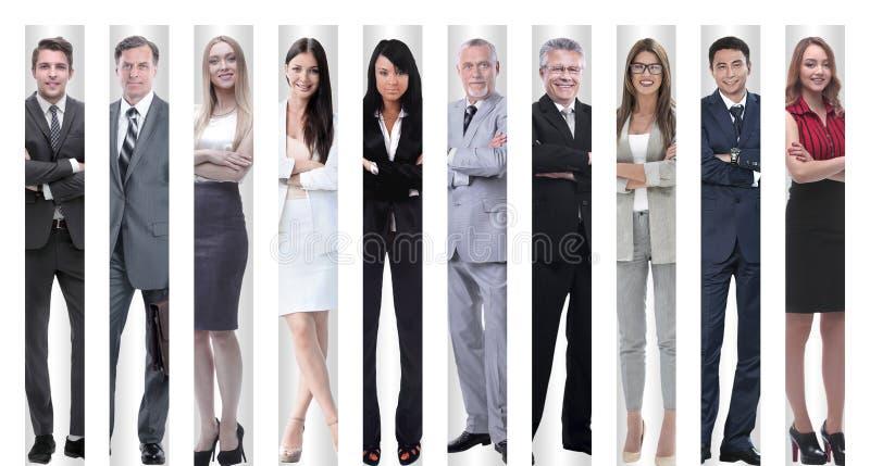 No crescimento completo executivos bem sucedidos modernos fotografia de stock