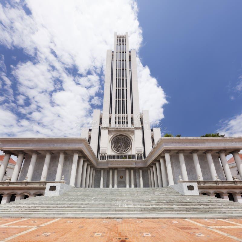 No 5 de los edificios educativos más altos del mundo es el CL imágenes de archivo libres de regalías