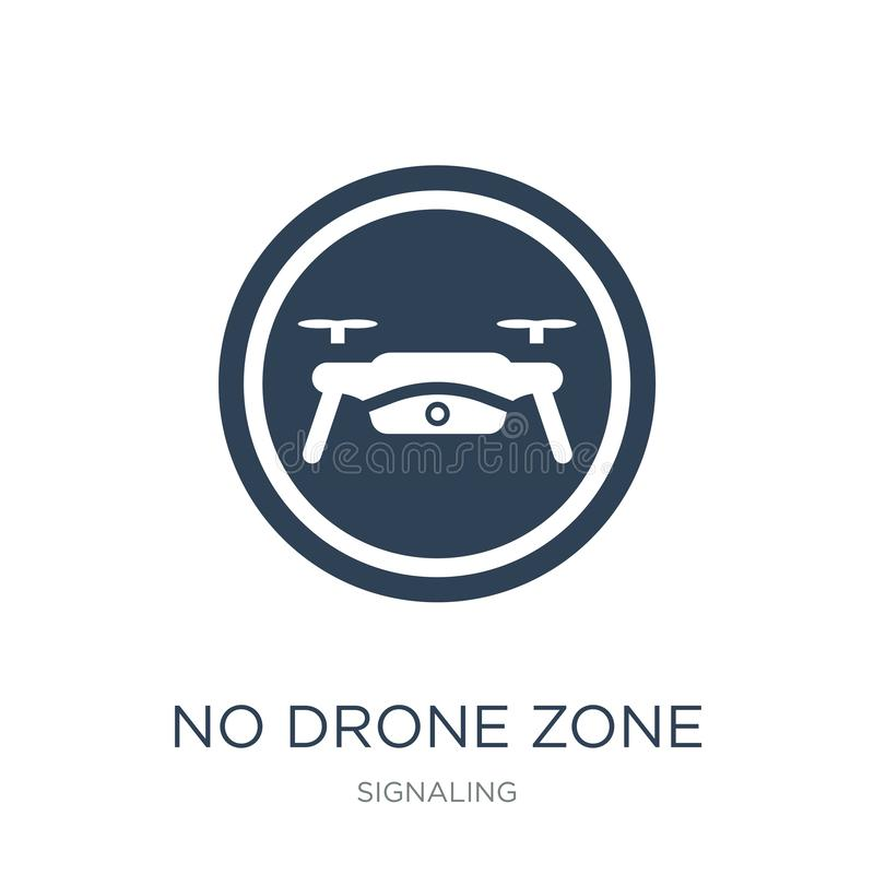 no drone zone icon in trendy design style. no drone zone icon isolated on white background. no drone zone vector icon simple and royalty free illustration