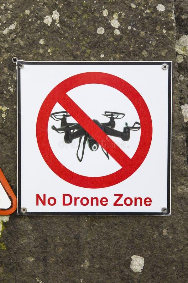 No Drone Zone stock photos