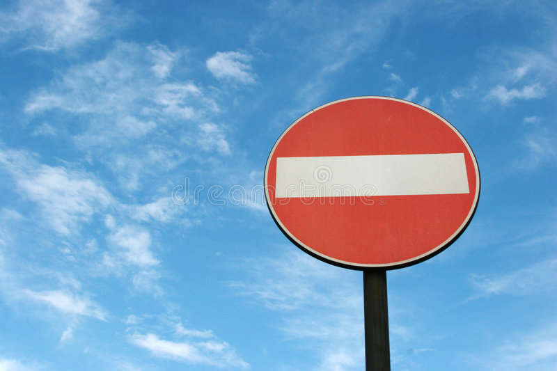 Download No Entry stock photo. Image of blue, entry, traffic, transport - 456594