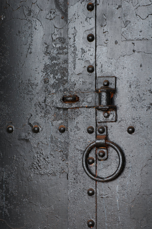 Download No Entry - Old metal door stock image. Image of metal - 2520827