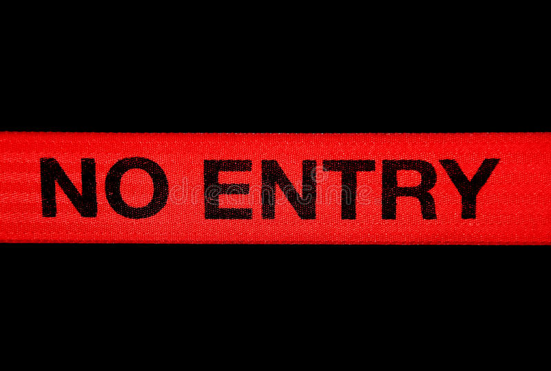 Download No entry sign stock photo. Image of black, police, regulations - 12381186