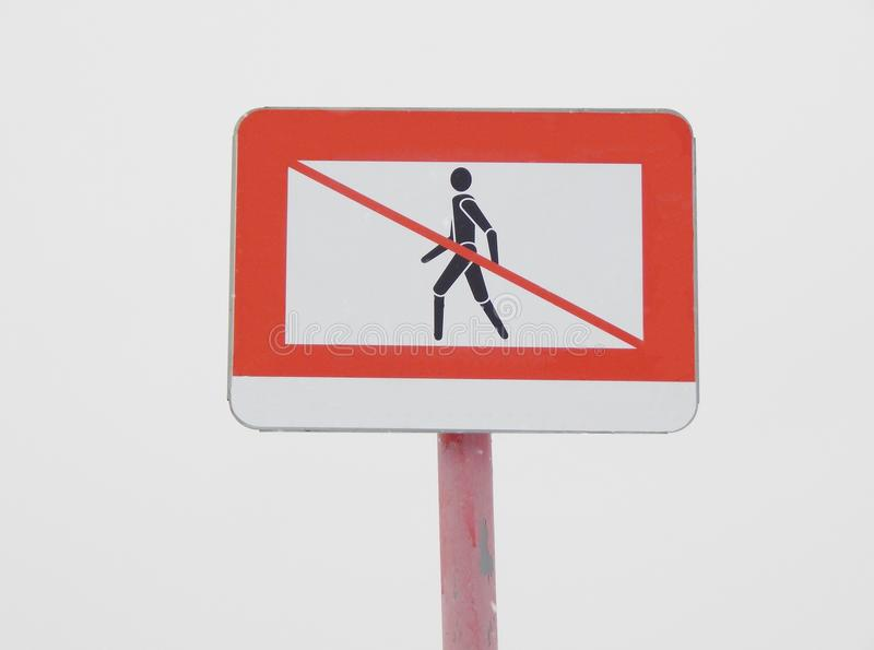 Download No entry sign stock image. Image of restriction, area - 83715825