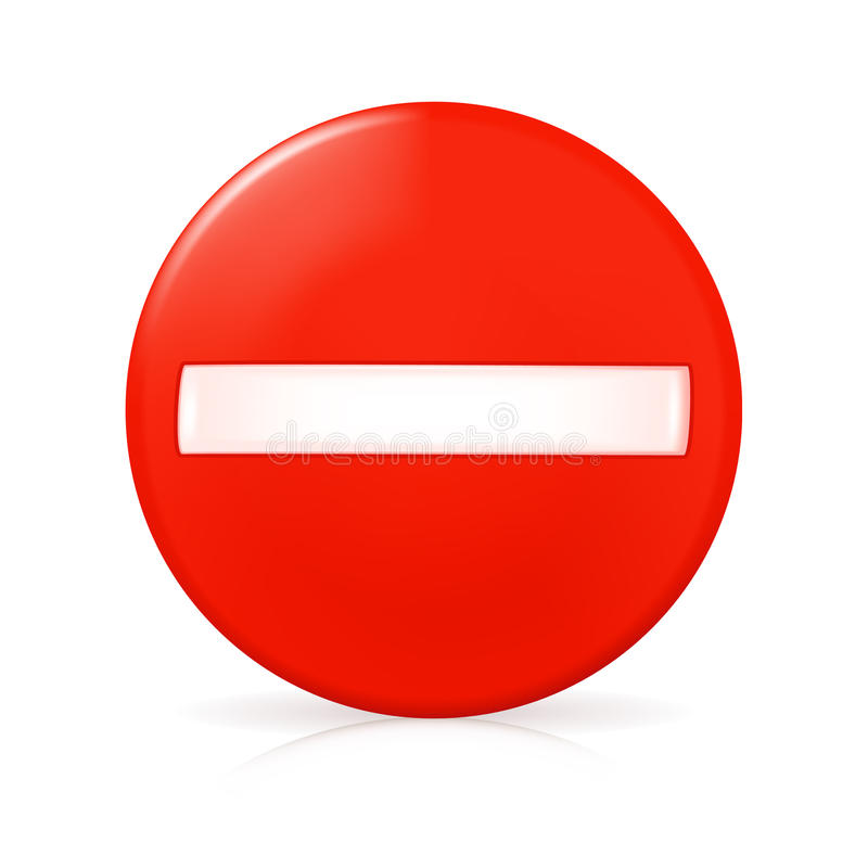 Free No Entry Traffic Sign Royalty Free Stock Photography - 13368337