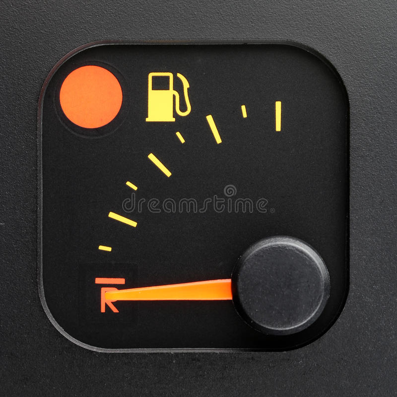 Free No Fuel - Empty Tank Pointer Stock Photo - 24301150
