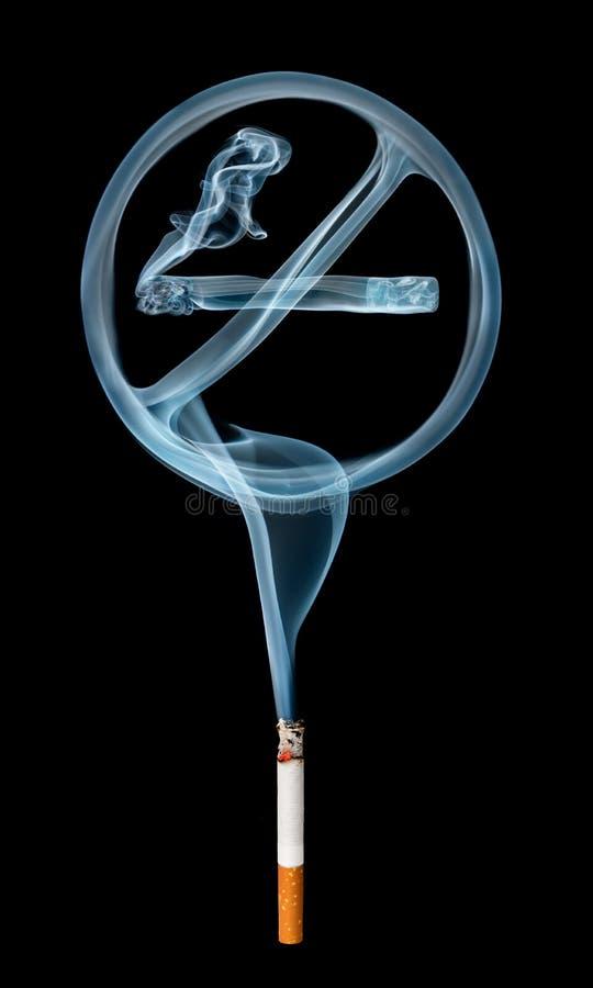 No fume fotografía de archivo libre de regalías