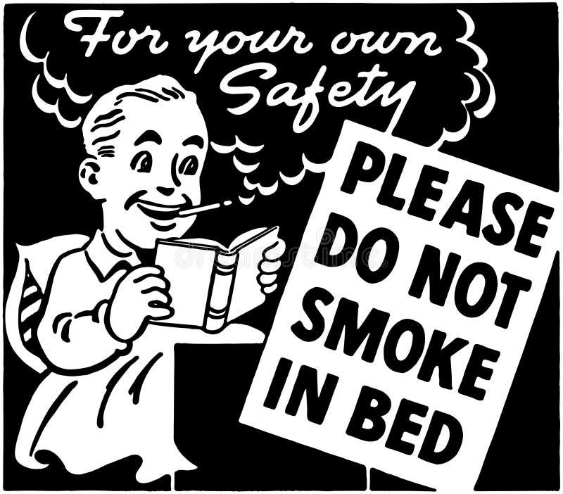 No fume en cama libre illustration