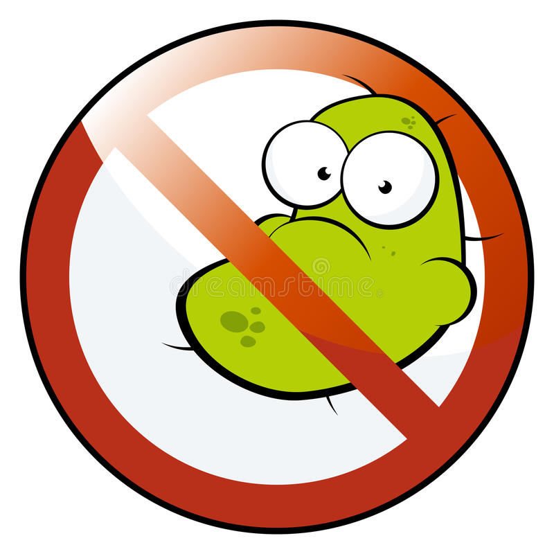 Free No Germs Allowed Stock Photos - 10911473