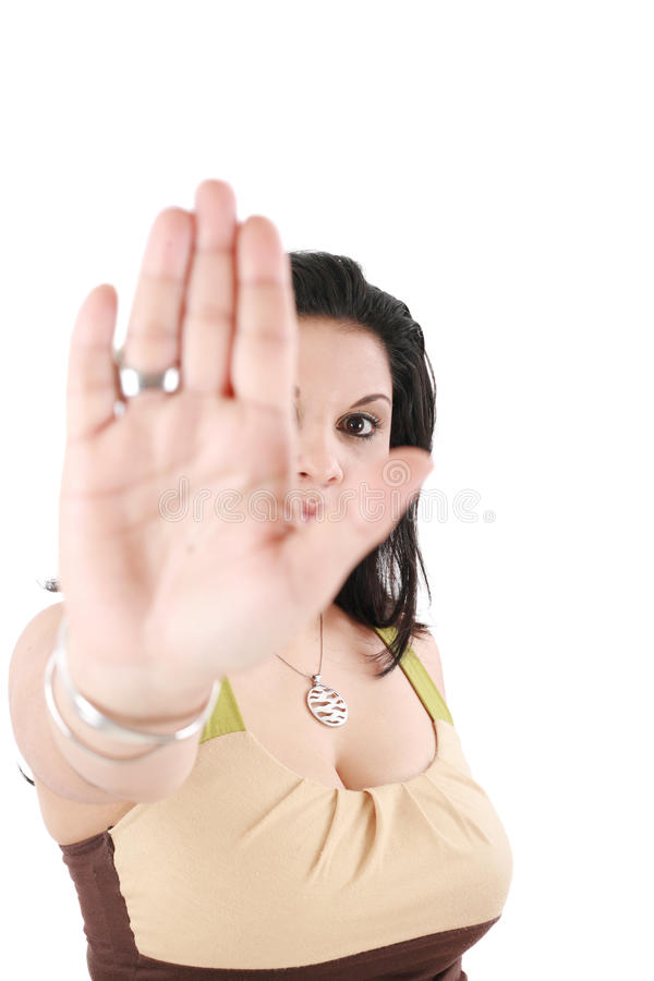 Download No gesture stock photo. Image of finger, forbidden, showing - 26473608