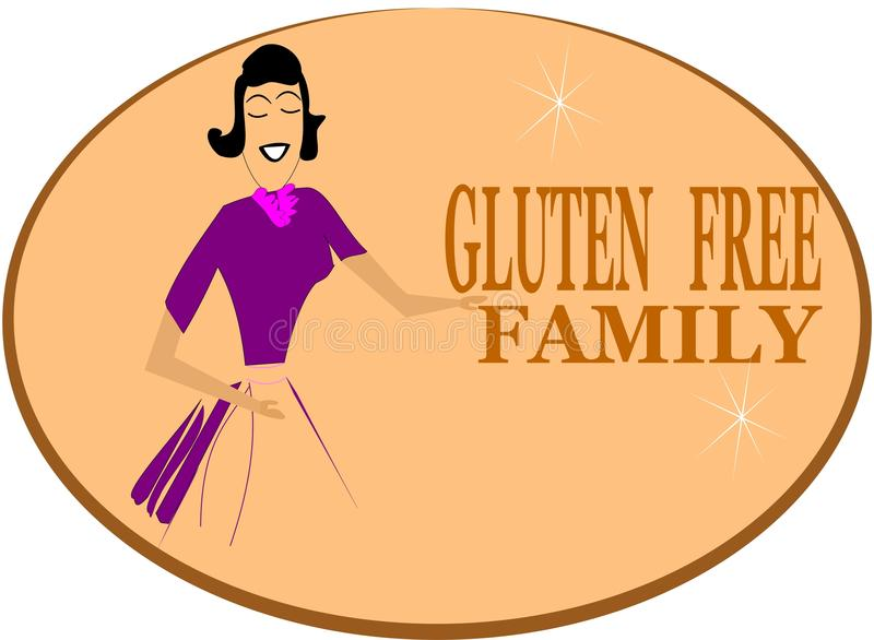Download No gluten family stock vector. Image of isolated, disease - 24219427