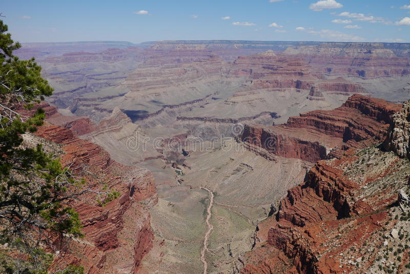 No Grand Canyon fotografia de stock royalty free