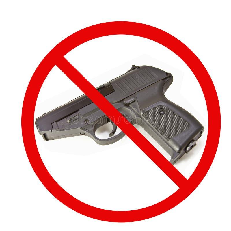 Download No Guns stock photo. Image of semiautomatic, black, ammo - 19562116
