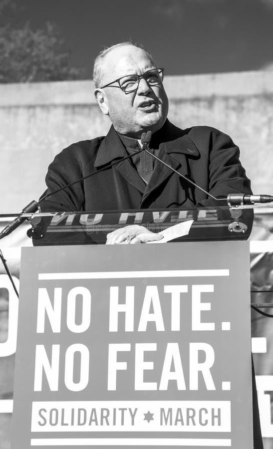 No Hate, NoFear Solidarity March royalty free stock photos