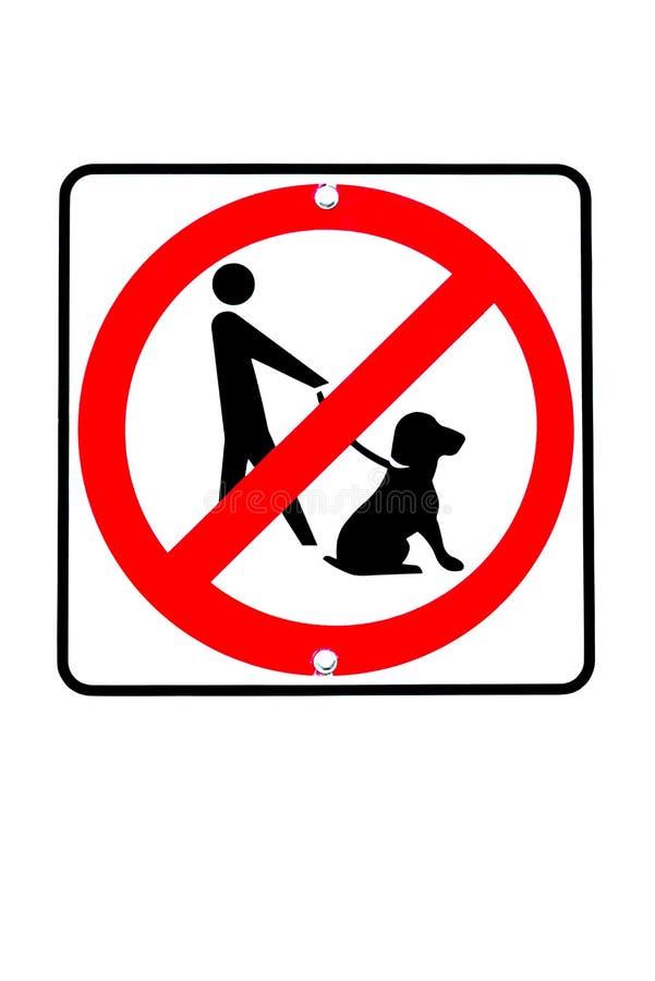 No insegue il segno permesso royalty illustrazione gratis