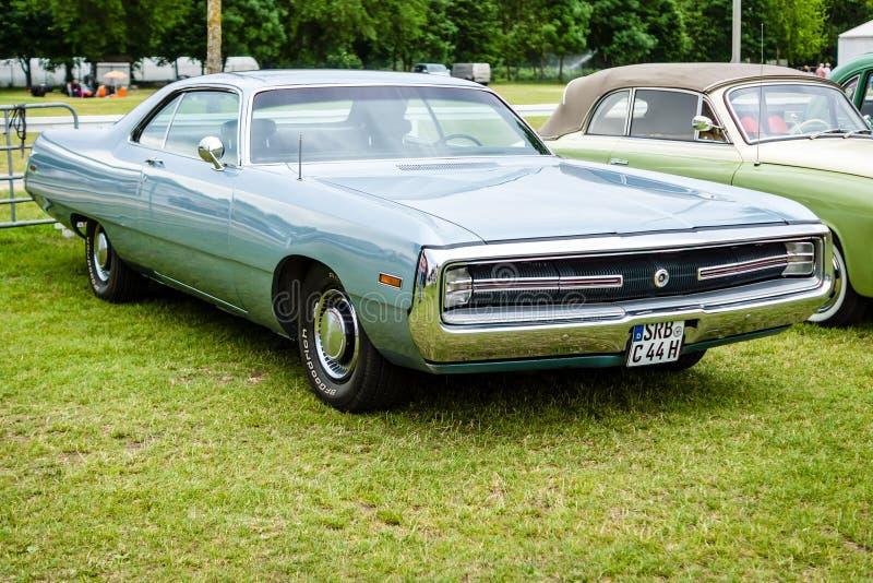 No-letra del mismo tamaño Series, 1970 de Chrysler 300 Hurst del coche fotos de archivo libres de regalías