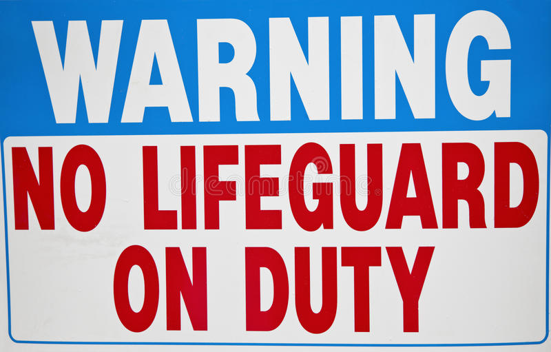 Download No Lifequard on duty stock photo. Image of duty, relaxation - 25711578