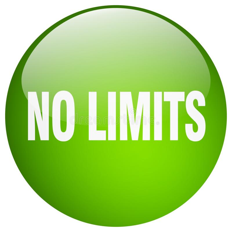 Free No Limits Button Stock Images - 122713204