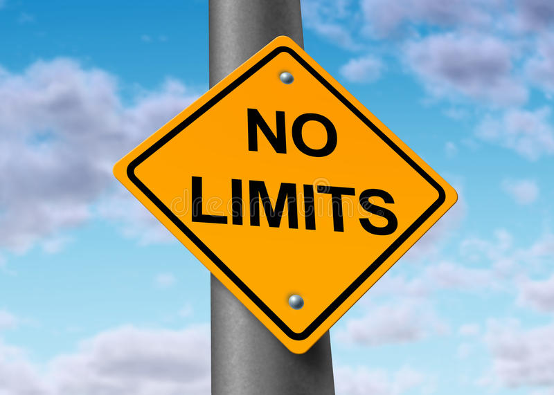 Download No Limits Endless Limitless Potential Positive Stock Photo - Image: 17957086