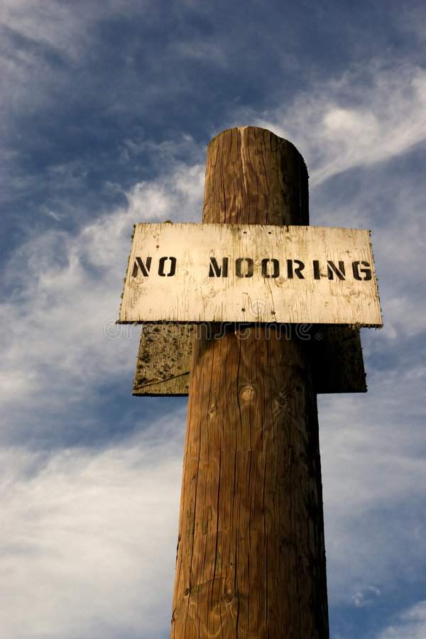 Download No Mooring 3 stock photo. Image of columbia, ruins, warning - 507886