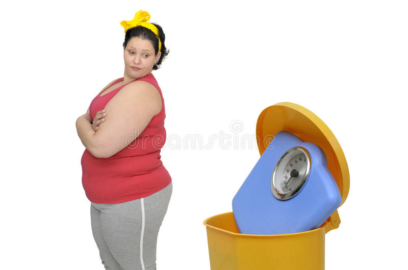 Download No more... stock image. Image of young, weight, girl - 16936265