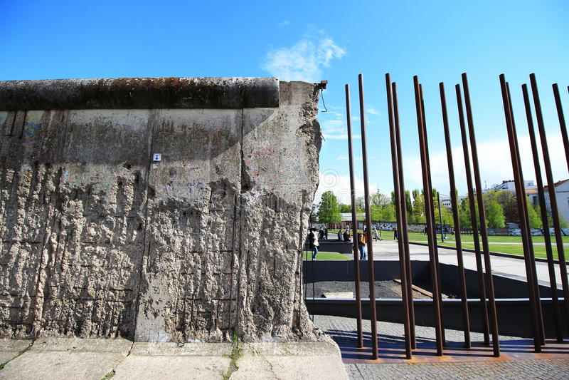 No more Berlin Wall! royalty free stock images