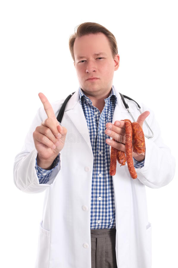 Download No more meat stock image. Image of finger, copyspace - 33610969