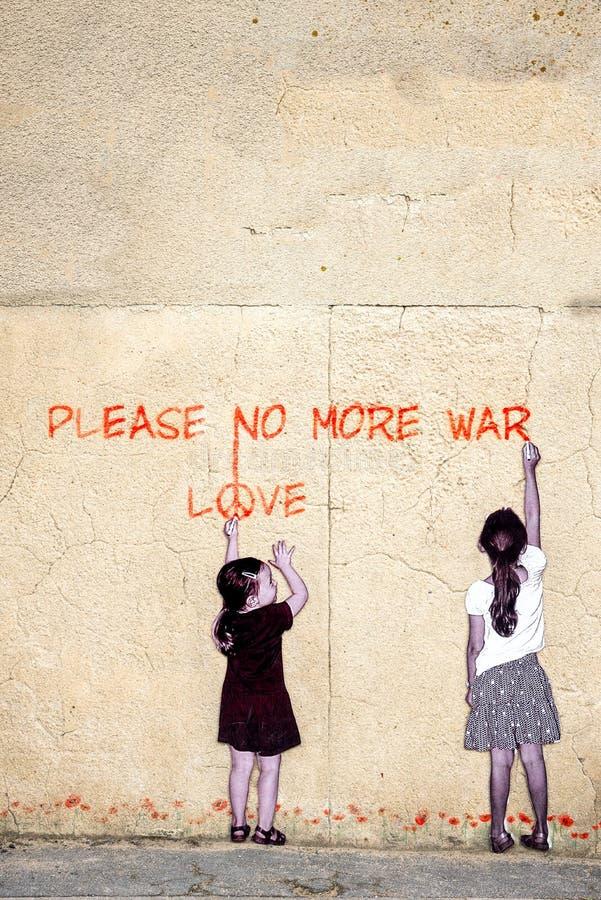 No More War royalty free stock photo