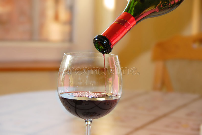 No more wine stock photo