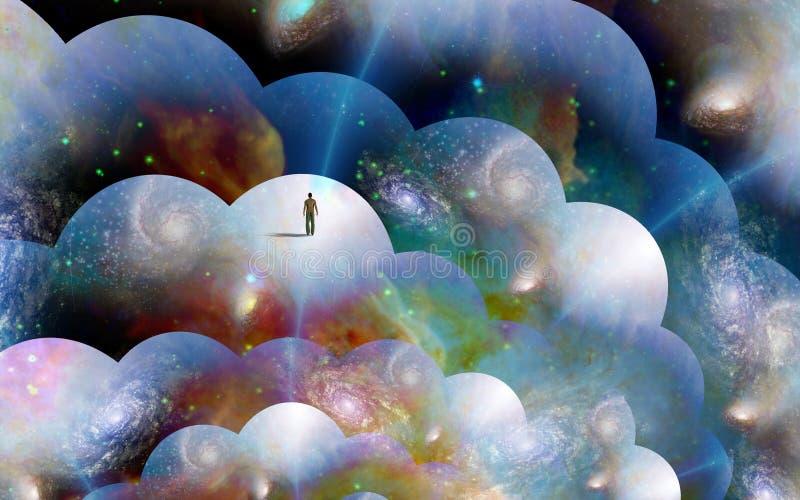 No multiverse ilustração do vetor