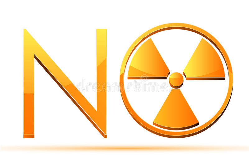 Download No Nuclear stock vector. Illustration of radioactive - 18925594