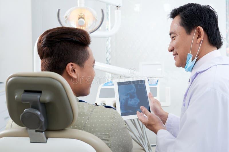 No orthodontist fotografia de stock