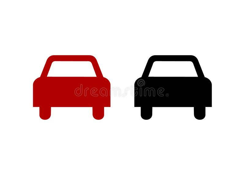 No overtaking prohibition sign isolated on white background. No overtaking prohibition sign isolated on a white background isolated on white background vector illustration