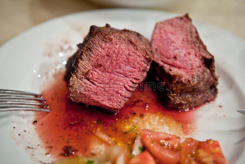 No para los vegetarianos imágenes de archivo libres de regalías