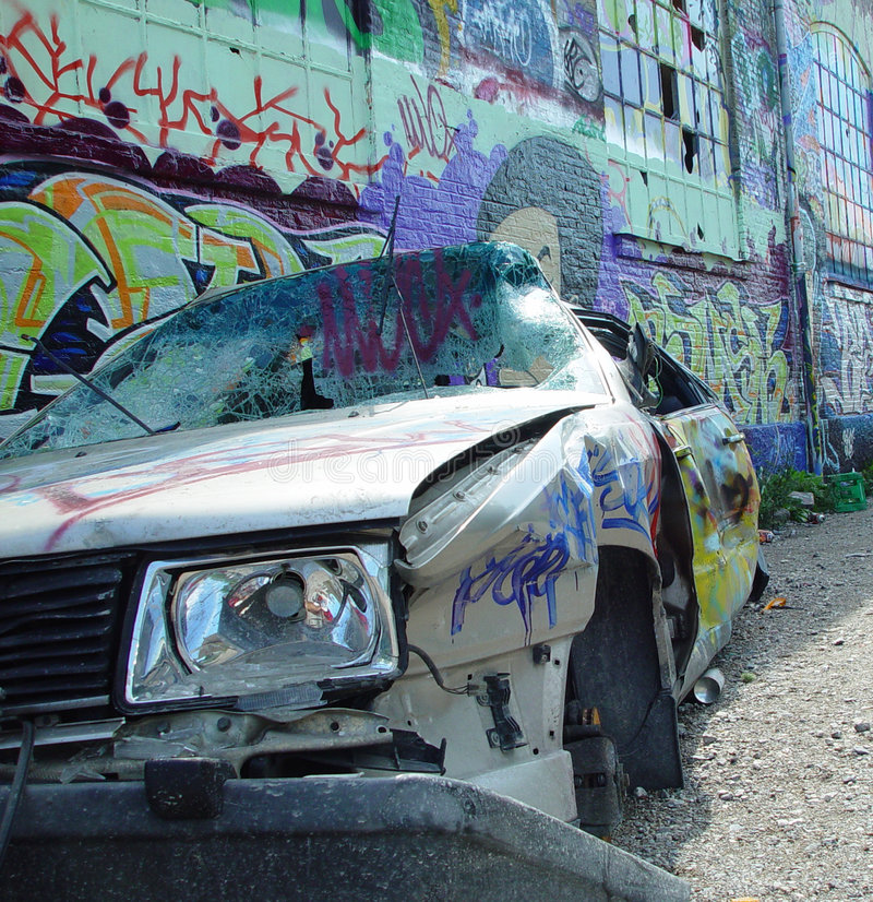 Download No parking 1 stock photo. Image of told, crash, graffiti - 5074