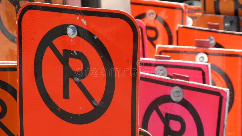 No Parking Royalty Free Stock Photos