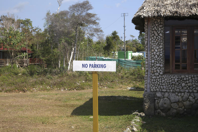 No parking royalty free stock photography