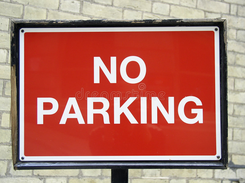 Download No parking stock photo. Image of fordidden, motor, city - 48012