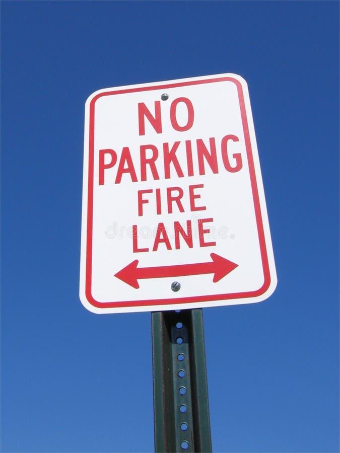 Download No Parking Fire Lane stock photo. Image of firelane, lane - 83358